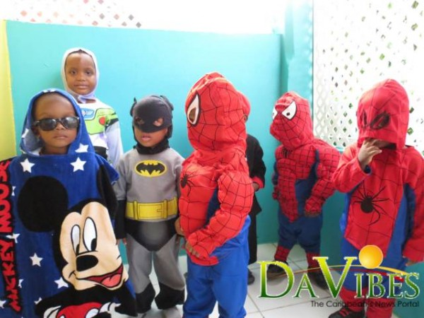 Nursery Holds Cartoon Character Day