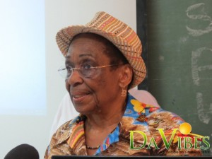 Beulah Providence is a patron of the Dominica Cancer Society