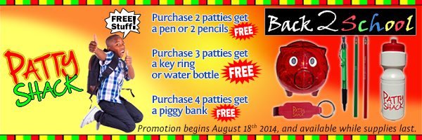 Patty Shack Back to School Promo